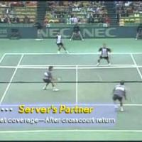 Doubles Tennis Tactics - 1 Of 3