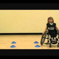 wheelchair basketball - Pivoting