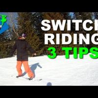 How to Ride Switch - Snowboard Trick Series