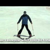 Ski Lesson Video for beginners - part 1