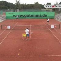 tennis training video - fitness - speed endurance - group drill