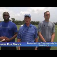 Defensive Line Fundamentals (1 of 4)