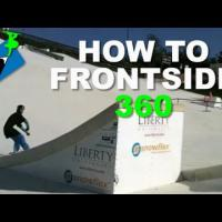 How to FRONTSIDE 360