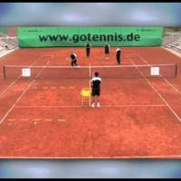 tennis training coordination: improve your touch