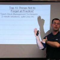 Top 10 Things Not to Forget At Practice! (Planning Your Weekly Practice)