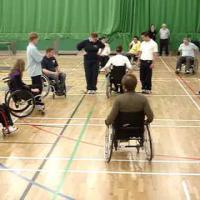 The Back-Up Trust - Wheelchair skills training