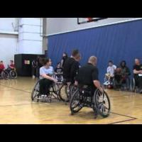 Wheelchair basketball - Skills Training- Half Court Offense Part 4