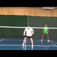 Net Play in Level Doubles