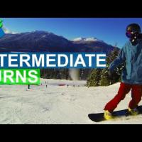 How to do Intermediate Snowboard Turns