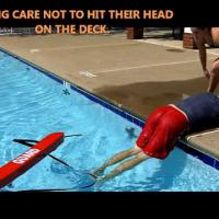 Extrication from Pool by One Lifeguard