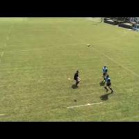 'Chip & Chase' Rugby Training Drill