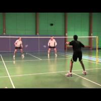 Badminton-The best possible way to return opponent smash