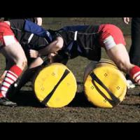 '1 Vs 1 Tackle Contest' Rugby Training Drill