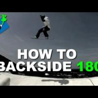 How to BACKSIDE 180