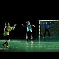Handball Feint - Three-step-feint