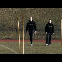 'Passing Gates' Rugby Training Drill