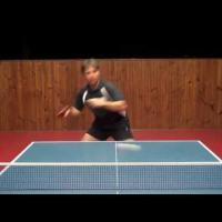 Table Tennis Forehand Topspin Against Block