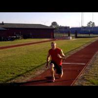 A Typical Long Jump Workout