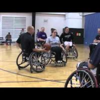 Wheelchair basketball - Skills Training- Half Court Offense Part 2
