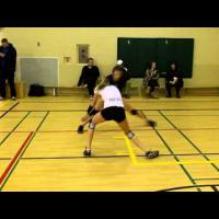 Basic volleyball moves/ footwork ( 4 ) -  Defensive movement game