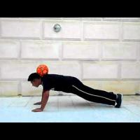 Push Ups (Tutorial) :: Freestyle Football / Soccer