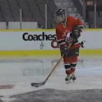 Ice Hockey - Stationary puck control