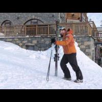 How To Walk On Snow - Beginner Ski Lesson
