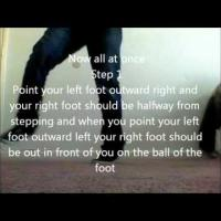 How to Shuffle Dance Part 4