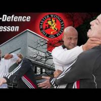 How to do self defence Lesson 25: elbow back, knee to the body