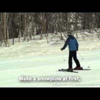 Ski Lesson Video for beginners - part 3