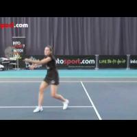 Tennis Coaching- How to Hit a Forehand Volley