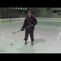 Pivoting While Making Passes: Hockey Practice