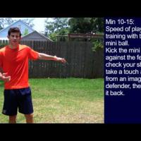 Drills in Soccer - 30 Minute Soccer Training Session  15