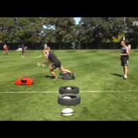 Halfback Passing Drill