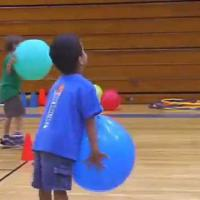 Catching using balloons