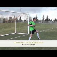 Soccer warm up drills