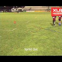 Agility Cross Ladder Drills for Rugby