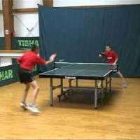 Basic exercises in TableTennis-training