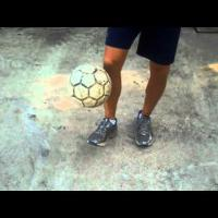 Juggling Tricks - Soccer Ball Pick Up Trick