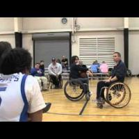 Wheelchair basketball - Shooting- Beginner to Advanced part 3
