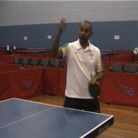 Forehand Smash - Table Tennis