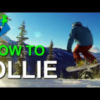 How to Ollie on a Snowboard