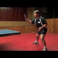 Table Tennis Backhand Topspin