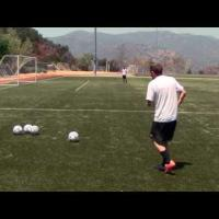 How To Cross A Soccer Ball