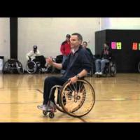 Wheelchair basketball - Shooting- Beginner to Advanced part 1