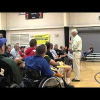 Wheelchair basketball - How to Press - Part 1
