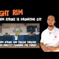 Interactive Basketball Shooting Guide (First on YouTube) - Off Shooting-Arm Side of Rim