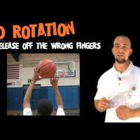 Interactive Basketball Shooting Guide (First on YouTube) - Wrong Rotation on Ball