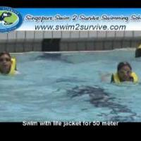 Survival Swimming Test