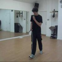 How to do 180 and 360 turns jump rope tricks